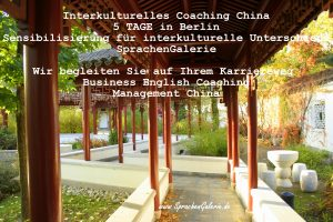 interkulturelles Coaching Management China SprachenGalerie Berlin